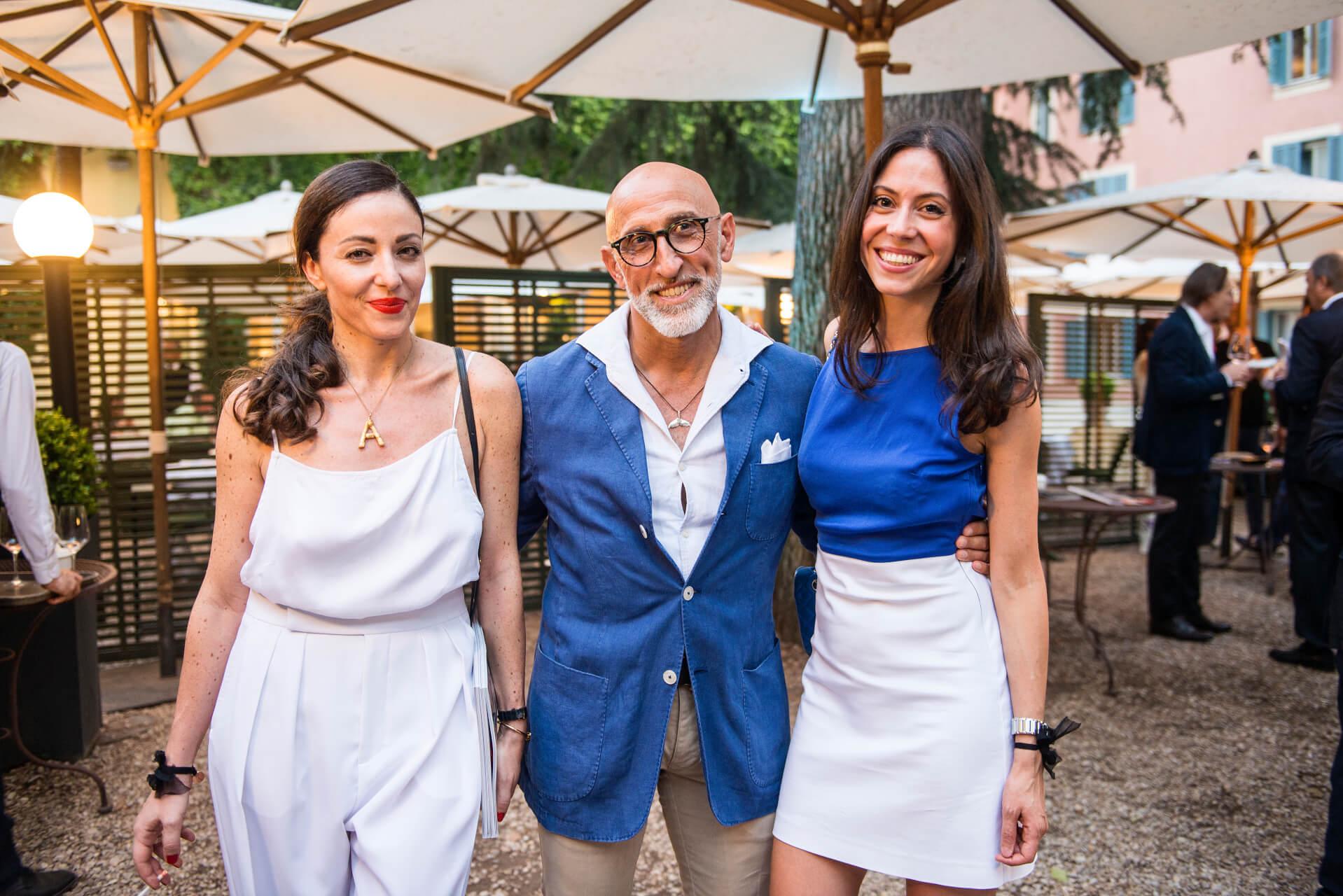 Antonia Ruggiero, Enrico Chiavacci, Giulia Vecchione