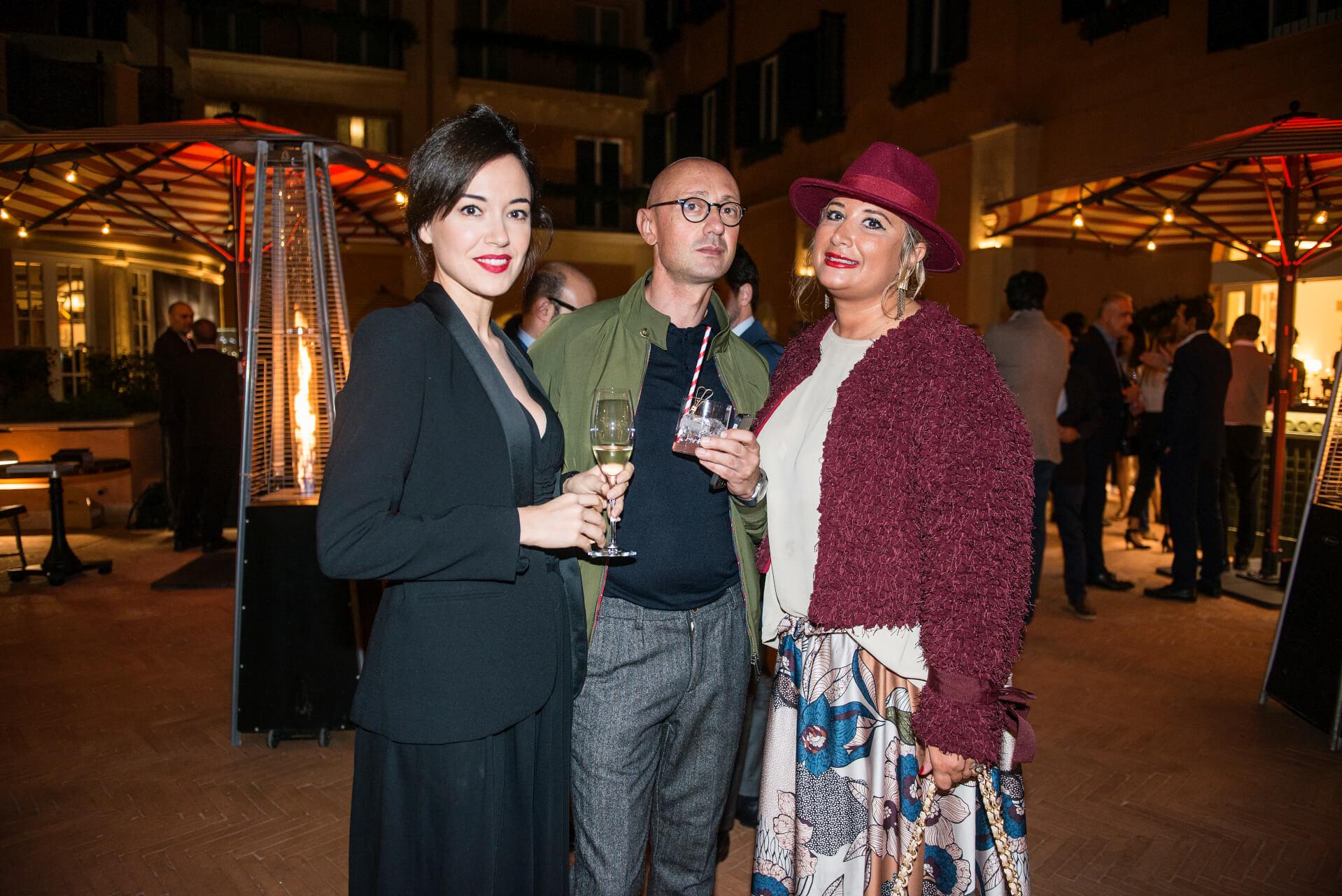 Vera Dragone, Riccardo Ciccarese, Cristina Attina