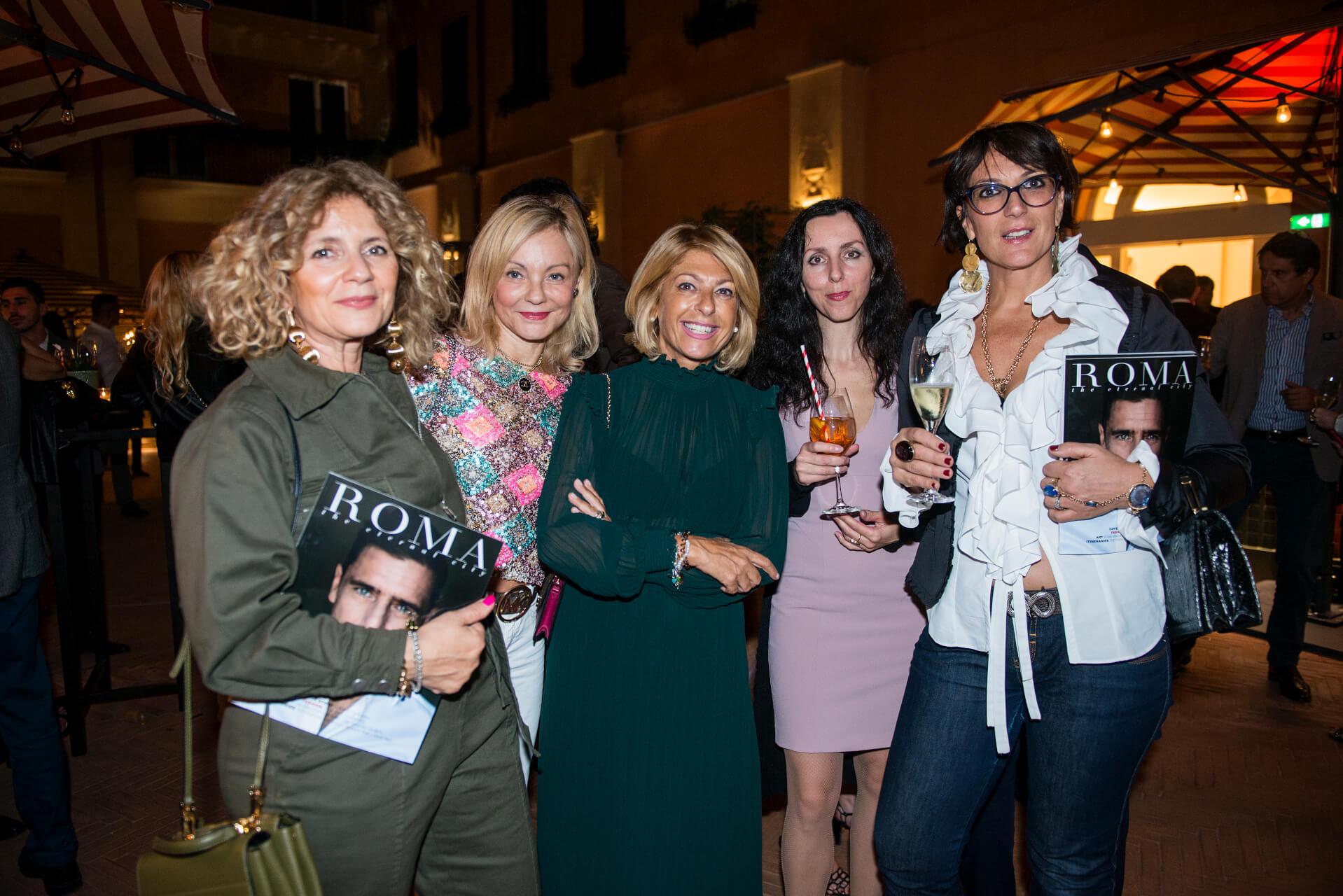 Iran Dmytrenko, Claudia Guadagni, Paola Paciotti, Antonella Mazzaglini, Barbara Mandatori